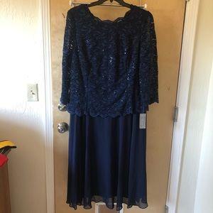 Alex Evenings Navy dress